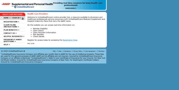 Aarp Provider Online Tool Uhc Aarp Supplemental And Personal Health