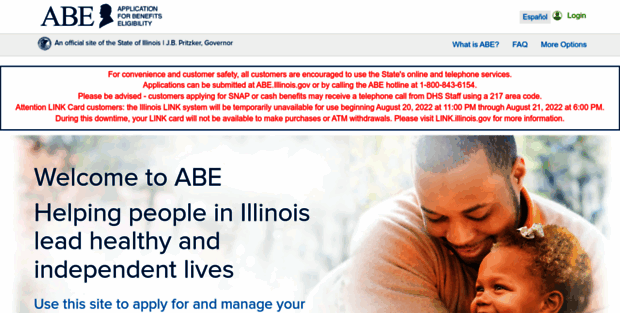 ABE Illinois  Illinois gov - IL Application for Benefits