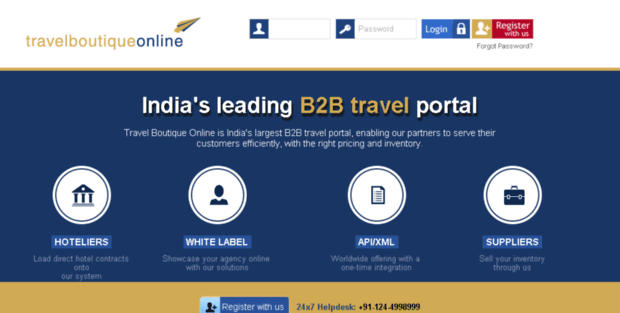 Accounts Travel Boutique Online  TBO – Online Travel Agency, White
