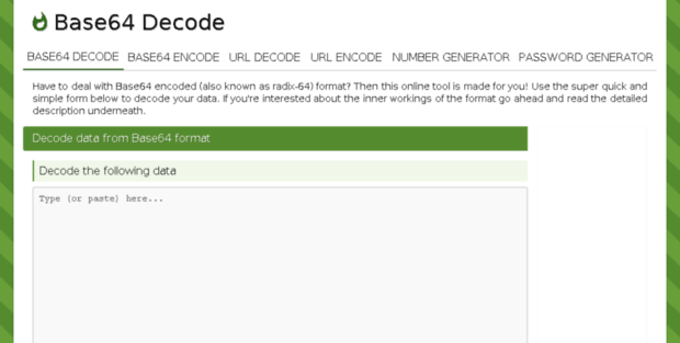 B 64 Dec  Base64 Decode and Encode - Online