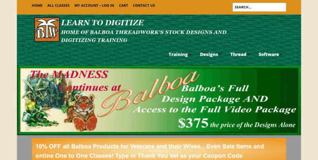 Balboa Stitch Balboa Threadworks Learn To Digitize 2018 Balboa