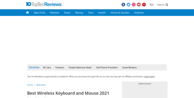 Bluetooth Mouse Review Toptenreviews  Best Wireless Keyboard and