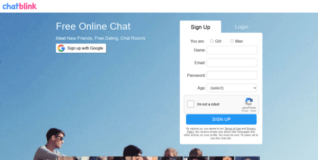 Chat Blink  Free Online Chat