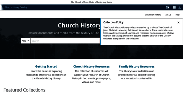 Church History Catalog Lds  Church History Catalog