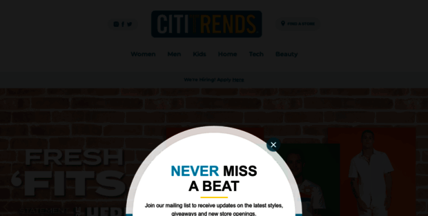 Home | Savings with Style Citi Trends