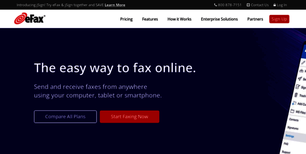 Efax.com. eFax® - The World's #1 Online Fax Service