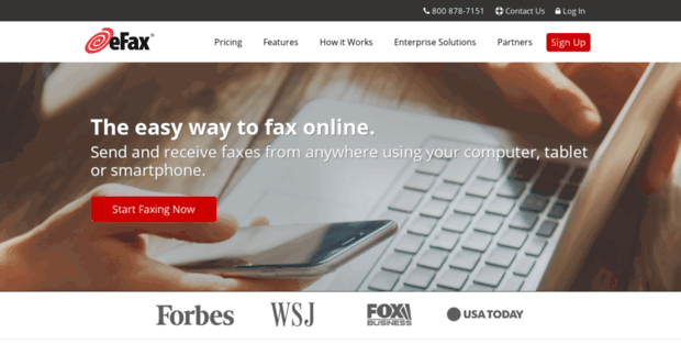 En 2 EFax. eFax - Internet Fax to Email Services