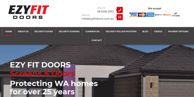 ezyfitdoors.com.au  sc 1 st  freetemplatespot.com & Ezy Fit Doors. Security Doors Perth - Security Screens | Ezy Fit Doors