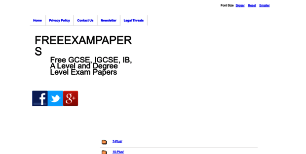 Freeexampapers com  Free Exam Papers For GCSE, IGCSE, A Level, IB