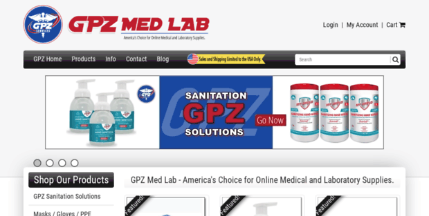 Getpinz  GPZ Med Lab - Your Online Source for Medical and