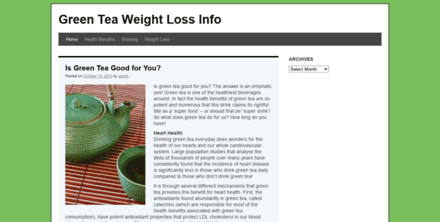 weight loss information on the internet essay Even the well-funded, serious research into weight-loss science is confusing and inconclusive, laments peter attia, a surgeon who cofounded a nonprofit called the nutrition science initiative.