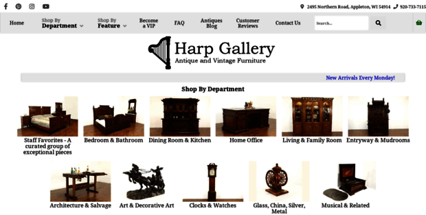 harpgallery.com - Harpgallery.com. Harp Gallery Antique Furniture And Antiques