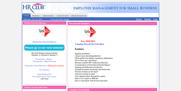 hrclub small business payroll software free payroll calculator