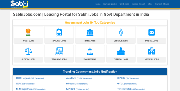 In Govt Job  Government Vacancy 2019 all govt exams