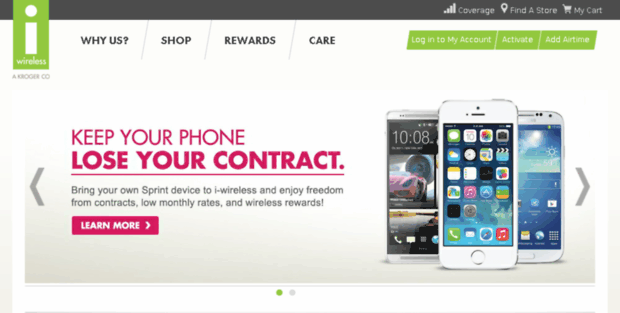 I Wireless Home  Prepaid cell phones, No Contract and Pay as