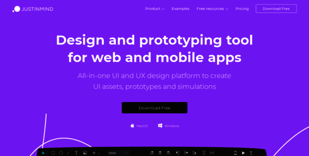 Justinmind  Free prototyping tool for web & mobile apps - Justinmind