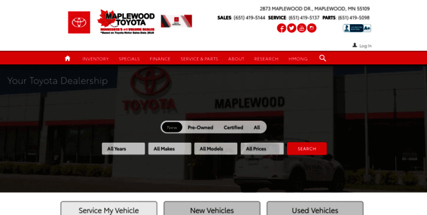 Toyota Dealers Mn >> Maplewood Toyota Calls Maplewood Toyota Dealership 1 Of