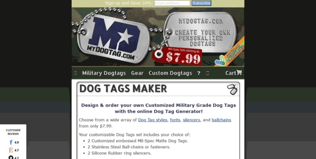 my dog tag military dog tags generator customized id dogtags for