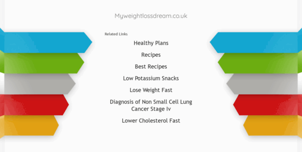 Myweightlossdream Co Uk