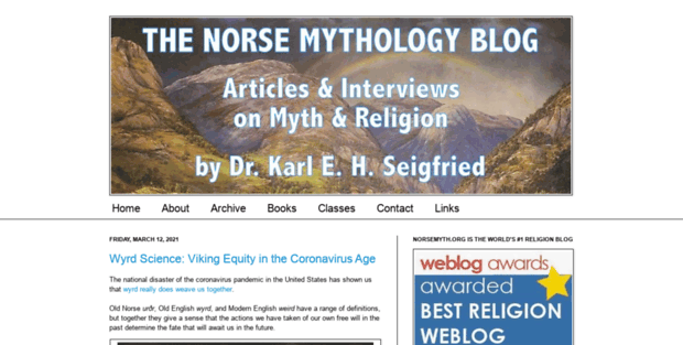 an overview of the norse mythology book by karl mortensen