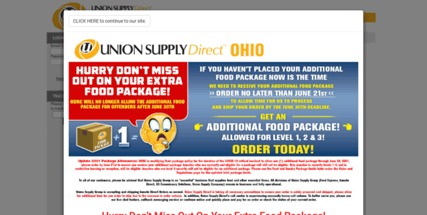 Ohio Inmate Package. Union Supply Direct - Ohio Inmate ...
