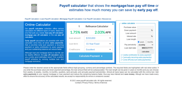 extra payment calculator pay off debt quicker and save