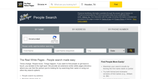 People Yellow Pages  White Pages - People Search & Find Phone