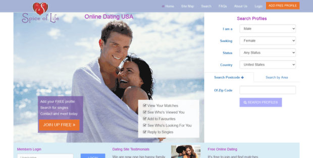 dating and sex websites