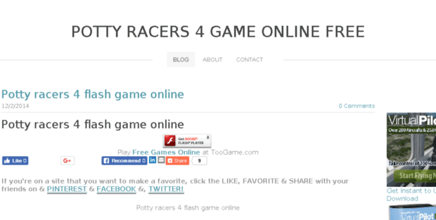 Potty Racers 4 Game Online Free Weebly  Potty racers 4 game