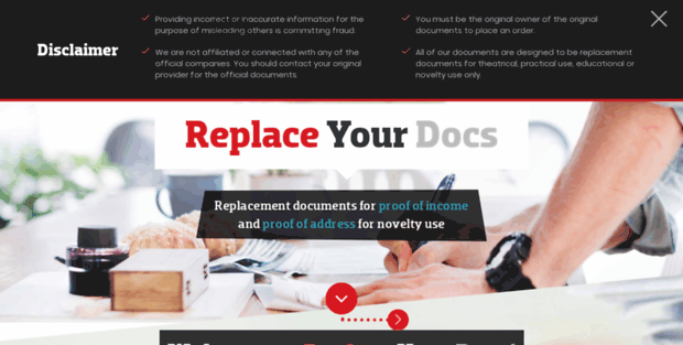 Replaceyour Docs Replacement Documents Fake And Replica