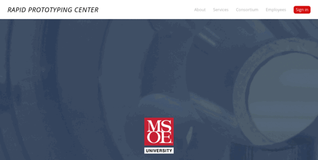 RPC Msoe  Rapid Prototyping Center: RPC Homepage