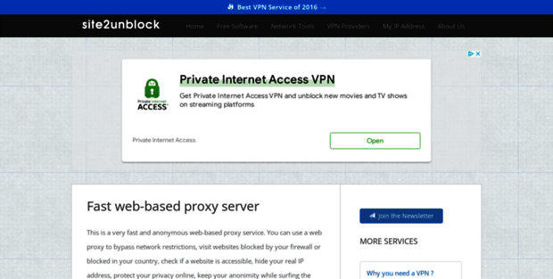 Site2 Unblock  Unblock blocked websites with this fast web