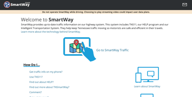 Smart Way Tn. TDOT SmartWay