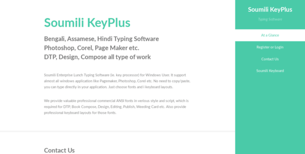 Soumili com  Soumili Keyboard : Bengali Typing Software for