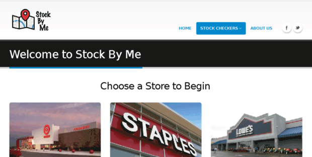 stockbymecom - Inventory Checker