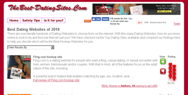 Best hookup dating website