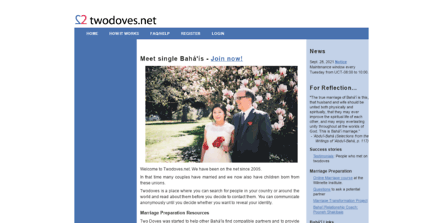 2 doves bahai dating site