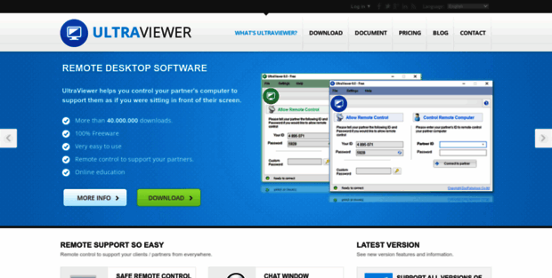 Ultra Viewer  UltraViewer - Remote control software, remote access