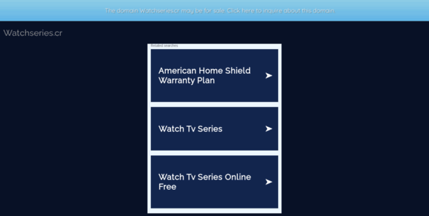 Watch Series Online Free - WatchSeries.CR