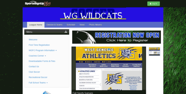 west genesee fc boys sports signup west genesee fc boys powered