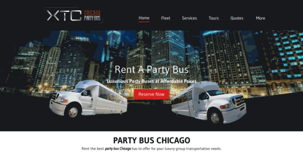 Xtc Chicago Party Bus. Party Bus Chicago | Chicago Party Bus ...